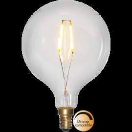 LED-Pære E14 Soft Glow G95 Dim , hemmetshjarta.dk