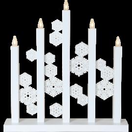 Advent lysestage Snowfall , hemmetshjarta.dk