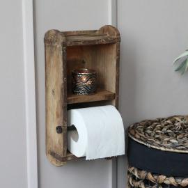 Murstensform Toiletpapirholder H30 / L15 / W10 cm naturlig , hemmetshjarta.dk