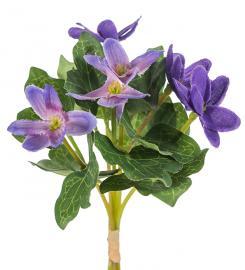 Kunstig .Blå anemone 18 cm , hemmetshjarta.dk