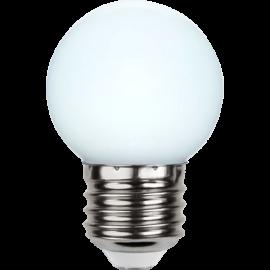 LED-Pære E27 Outdoor Lighting G45 Opal , hemmetshjarta.dk