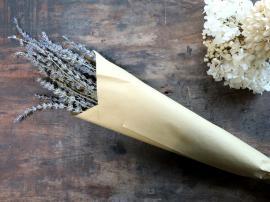 Fleur tørrede Lavendel Blomster L60 cm lavendel , hemmetshjarta.dk