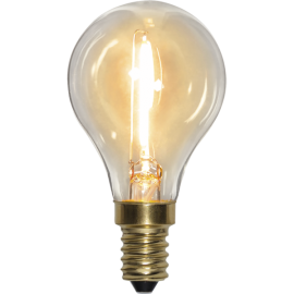 LED-Pære E14 Soft Glow P45 , hemmetshjarta.dk