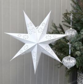 Papir stjerne Vintage 45 cm , hemmetshjarta.dk