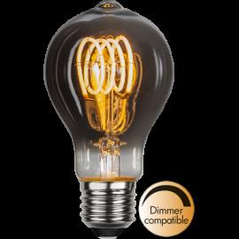 LED-Pære E27 Decoled Spiral Smoke TA60 Dim , hemmetshjarta.dk