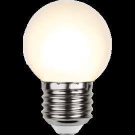 LED-Pære E27 Outdoor Lighting G45 Varmhvid , hemmetshjarta.dk