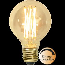 LED-Pære E27 Vintage Gold G80 Dim , hemmetshjarta.dk