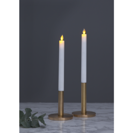 LED Kronelys 2-pack M-Twinkle , hemmetshjarta.dk