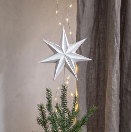 Uge 46 Top Stjerne Isa 21x33 Hvid , hemmetshjarta.dk
