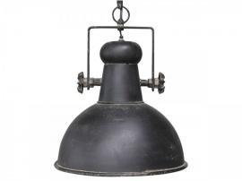 Lampe industri H40 / Ø32 cm antik sort , hemmetshjarta.dk