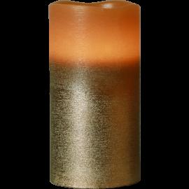 Batteridrevet Bloklys LED Cooper 7,5x15cm , hemmetshjarta.dk