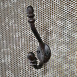 Vægkrok støbejern 12 cm , hemmetshjarta.dk