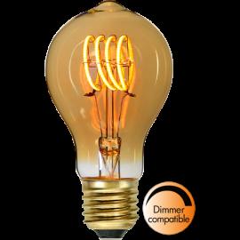 LED-Pære E27 Decoled Spiral Amber TA60 Dim , hemmetshjarta.dk