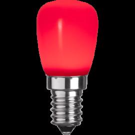 LED-Pære E14 ST26 Outdoor Lighting ST26 Rød , hemmetshjarta.dk