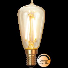 LED-Pære E14 Soft Glow ST38 Dim , hemmetshjarta.dk