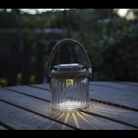 Solcelle lanterne Jamjar , hemmetshjarta.dk