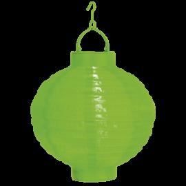 Solcelle papir lanterne Festival - grøn , hemmetshjarta.dk