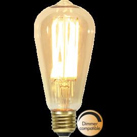 LED-Pære E27 Vintage Gold ST64 Dim , hemmetshjarta.dk
