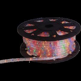 Lysslange Ropelight Micro Reel Udendørs Multi 1620 lys 4500cm , hemmetshjarta.dk