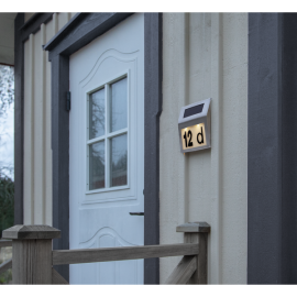Solcelle væglampe Wally , hemmetshjarta.dk