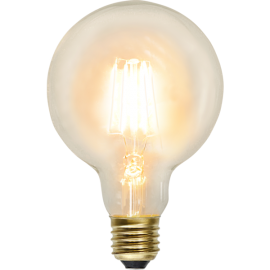 LED-Pære E27 Soft Glow G95 , hemmetshjarta.dk