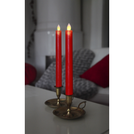 LED Kronelys 2-pack Glim Wax 24cm , hemmetshjarta.dk