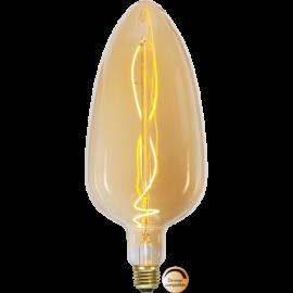 LED-Pære E27 Industrial Vintage C125 Dim , hemmetshjarta.dk