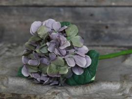 Fleur Hortensia H49 cm lyng , hemmetshjarta.dk