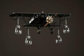 Fly glas/flaskeholder Metal 75x23x25cm , hemmetshjarta.dk