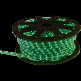 Lysslange Ropelight Micro Reel Udendørs Grøn 1620 lys 4500cm , hemmetshjarta.dk