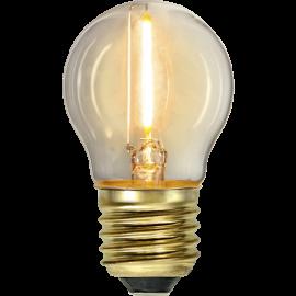 LED-Pære E27 Soft Glow G45 , hemmetshjarta.dk
