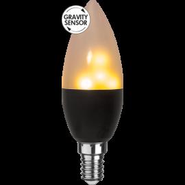 LED-Pære E14 Flame C37 , hemmetshjarta.dk