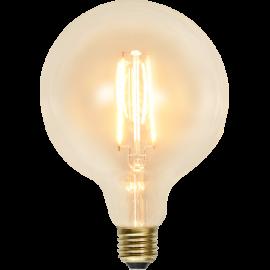 LED-Pære E27 Soft Glow G125 , hemmetshjarta.dk