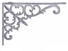 Hyldeknægt H12/L18/B3,5 cm antique grå , hemmetshjarta.dk