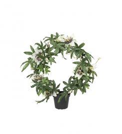 Kunstig Passiflora 40 cm , hemmetshjarta.dk