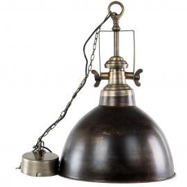 Lampe/Baron Antik Brun , hemmetshjarta.dk