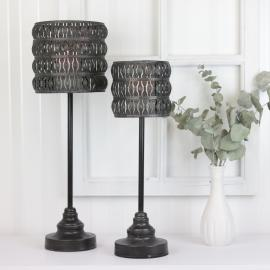 Lanterne Maja 45 cm - antik sort , hemmetshjarta.dk