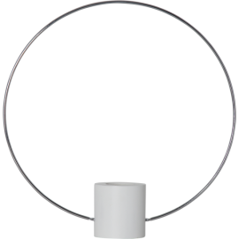 Lampeholder E27 Forever Hvid/Sølv 35x17 , hemmetshjarta.dk