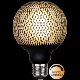 LED-Pære E27 Graphic G95 Dim , hemmetshjarta.dk