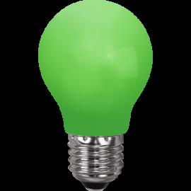 LED-Pære E27 Outdoor Lighting A55 Grøn , hemmetshjarta.dk