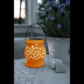 Solcelle lanterne Clay , hemmetshjarta.dk