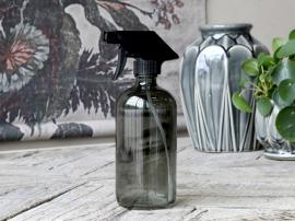 Flaske m. forstøver 480 ml. H21/Ø7,5 cm kul , hemmetshjarta.dk