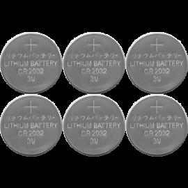 Batteri CR2032 6-pack , hemmetshjarta.dk