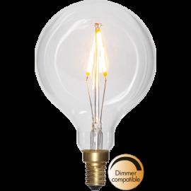 LED-Pære E14 Soft Glow G80 Dim , hemmetshjarta.dk