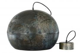 Lampe Metal Globe Onyx 36x45cm , hemmetshjarta.dk