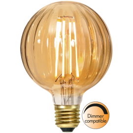 LED-Pære E27 Decoled G95 Dim , hemmetshjarta.dk