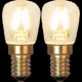 LED-Pære E14 Soft Glow 2-pack , hemmetshjarta.dk