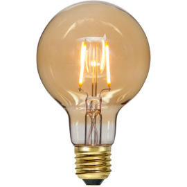LED-Pære E27 Plain Amber G80 , hemmetshjarta.dk