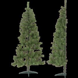 Juletræ Halve Udendørs 85/50x 180cm , hemmetshjarta.dk