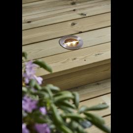 Solcelle spotlight Decklight , hemmetshjarta.dk